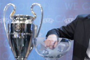 Стали известны соперники 1/4 Лиги Чемпионов